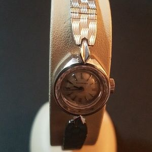 Longines 10K Gold Plated Stainless Steel Watch